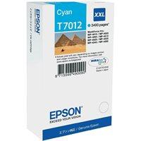 EPSON Tintenpatrone XXL Cyan 3.4k