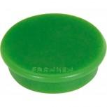 FRANKEN HM20 02 - Haftmagnete, rund, 24 mm, 300 g, grün, 10 Stück