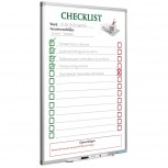 Full Colour Planungstafel, Softline prof, Checklist NL 90x60 cm bedruckt