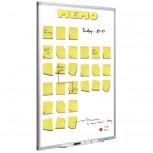 Full Colour Planungstafel, Softline prof, Memo 90x60 cm bedruckt