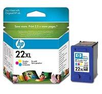 HP 22XL original HC Tinte cyan, magenta, gelb - C9352CE
