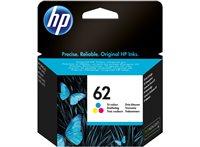 HP 62 original Tinte cyan, magenta, gelb - C2P06AE