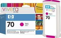 HP 70 original Tinte magenta - C9453A