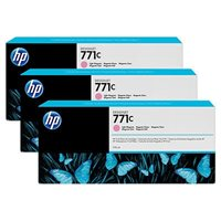 HP 771C original 3er-Pack Tinte magenta - B6Y35A