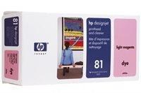HP 81 magenta hell Druckkopf und Druckkopfreiniger - C4955A