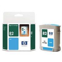 HP 82 original Tinte cyan - C4911A