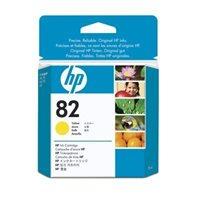 HP 82 original Tinte gelb - CH568A
