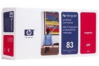 HP 83 magenta DesignJet UV-Druckkopf und Druckkopfreiniger - C4962A
