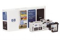 HP 83 schwarz UV-Druckkopf und Druckkopfreiniger - C4960A