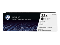 HP 83A original 2er-Pack Toner schwarz - CF283AD