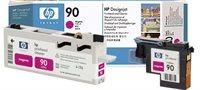 HP 90 magenta DesignJet Druckkopf und Druckkopfreiniger - C5056A
