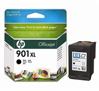 HP 901XL original HC Tinte schwarz - CC654AE