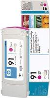 HP 91 original Tinte magenta - C9468A