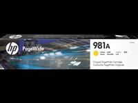 HP 981A original PageWide Tinte gelb - J3M70A