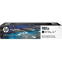 HP 981A original PageWide Tinte schwarz - J3M71A