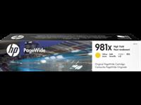 HP 981X original HC PageWide Tinte gelb - L0R11A