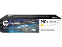 HP 981Y original HC PageWide Tinte gelb - L0R15A