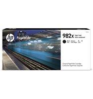 HP 982X original HC PageWide Tinte schwarz - T0B30A