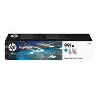 HP 991A original PageWide Tinte cyan - M0J74AE