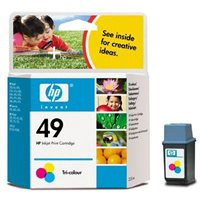 HP Farb-Tintenpatrone Nr. 49XL Original - 51649A -