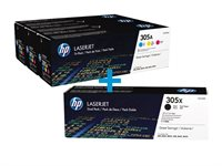 HP Multi-Tonerpaket CE410XD+CF370AM
