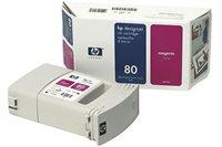 HP Tinte Nr. 80 für DJ 1050C/CM magenta