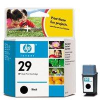 HP Tintenpatrone Nr. 29XL schwarz - 51629A -