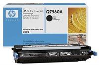 HP Toner schwarz für HP CLJ 3000, Q7560A