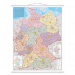 Kartentafel Deutschland, Tafel beschreibbar, 1:760000, 97 x 137 cm