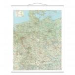Kartentafel Deutschland, Tafel beschreibbar, 1:800000, 97 x 137 cm