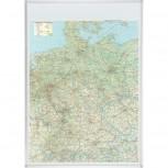 Kartentafel Deutschland, Tafel pinnbar, 1:800000, 98 x 138 cm