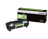 Lexmark 502 Rückgabe-Toner schwarz - 50F2000