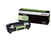 Lexmark 502H Rückgabe-Toner schwarz - 50F2H00