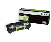 Lexmark 602 Rückgabe-Toner schwarz - 60F2000