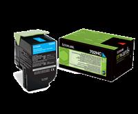 Lexmark 702HC Rückgabe-Toner cyan - 70C2HC0