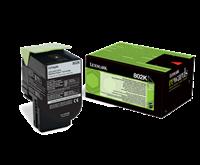 Lexmark 802K Rückgabe-Toner schwarz - 80C20K0