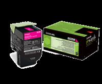 Lexmark 802M Rückgabe-Toner magenta - 80C20M0