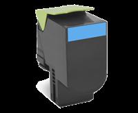 Lexmark 802SC Rückgabe-Toner cyan - 80C2SC0
