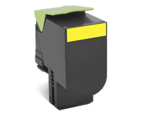 Lexmark 802SY Rückgabe-Toner gelb - 80C2SY0