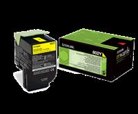 Lexmark 802Y Rückgabe-Toner gelb - 80C20Y0
