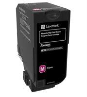 Lexmark HC Rückgabe-Tonerkassette Magenta