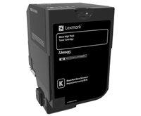 Lexmark Original HC Toner schwarz