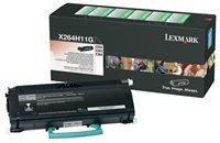 Lexmark Rückgabe-Tonerkassette schwarz für X264