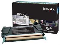 Lexmark Rückgabe-Tonerkassette schwarz - X746, 748