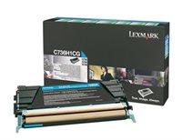 Lexmark Rückgabetonerkassette cyan für C736N