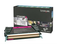 Lexmark Rückgabetonerkassette magenta für C734N