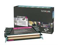 Lexmark Rückgabetonerkassette magenta für C736N