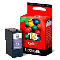 Lexmark Rückgabe-Tintenpatrone farbig Nr. 15