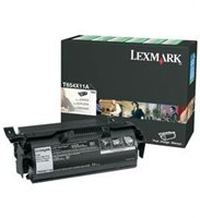 Lexmark Rückgabe-Tonerkassette schwarz HC für T654