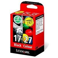 Lexmark Tinten-Kombipack farbig Nr.17+27 für X1270